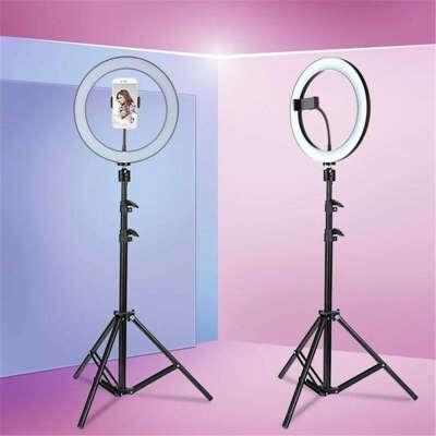 Кольцевая светодиодная лампа со штативом