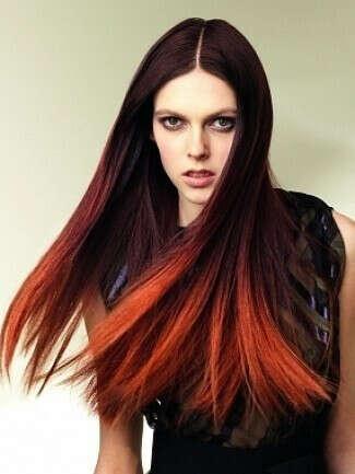 Я хочу покрасить кончики волос