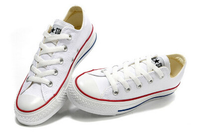 White Low All Star Converse