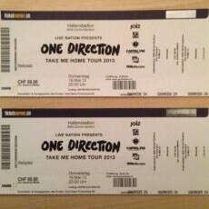 Билет на концерт One Direction