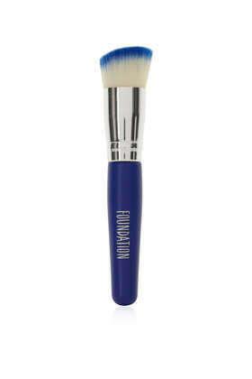 Pinsel Für Puder Und Grundierung Kobaltblau