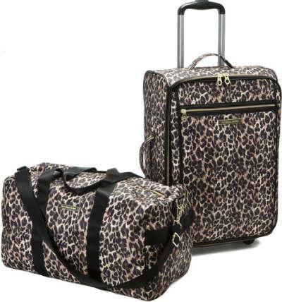 Чемодан и дорожную сумку Victoria's Secret