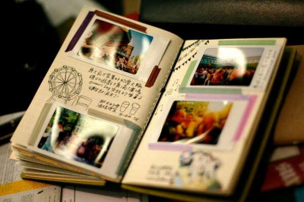 Фотоальбом с зарисовками и комментариями