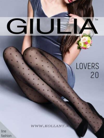 Giulia фантазия колготки LOVERS 04