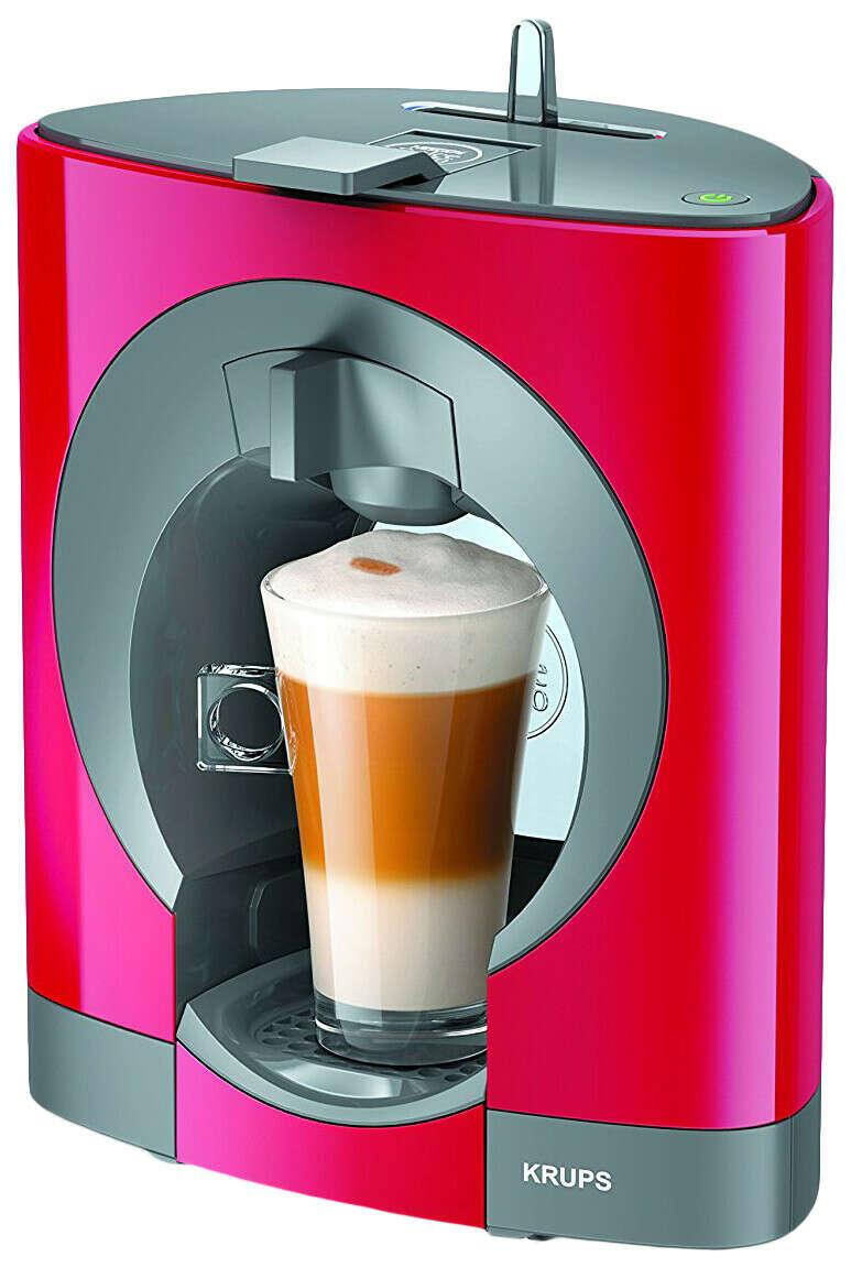 Кофемашина Nescafe Dolce Gusto oblo красная