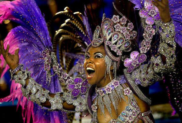 To participate in the Brazilian carnival/Участвовать в бразильском карнавале!