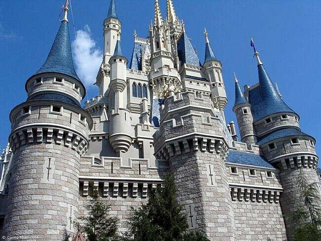 Хочу побывать в настоящем замке