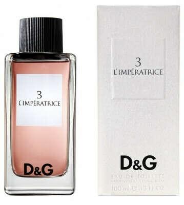 Dolce & Gabbana D&G Anthology L'Imperatrice 3. Купить Dolce & Gabbana D&G Anthology L'Imperatrice 3 - женские духи, туалетная вода, тестер