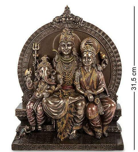 Статуэтка Шива-Парвати-Ганеша