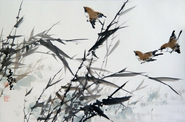 Урок китайской живописи