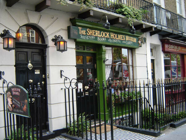 Побывать в музее Шерлока Холмса в Лондоне