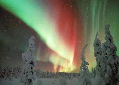 Хочу увидеть северное сияние