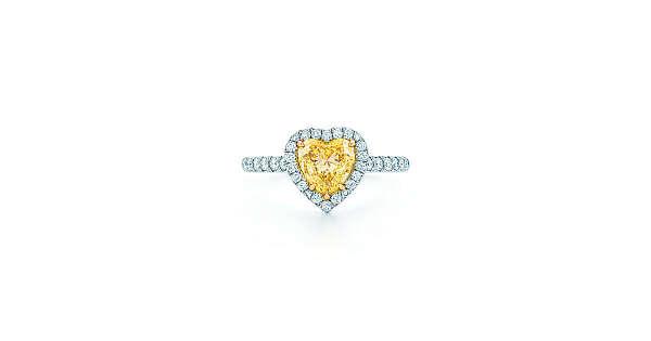 Tiffany & Co. -  Tiffany Soleste®:Heart-shaped YellowDiamond Ring