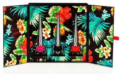 Набор лаков для ногтей Christian Louboutin Hawaii Kawaii Collection II