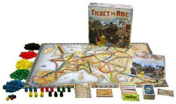 """Игра """"Ticket to Ride"""" Европа"""