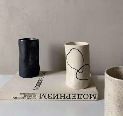 Ваза ручной работы от nezhno.ceramics
