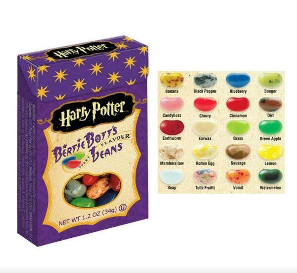 конфетки Berty Bott's
