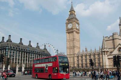 Гулять с мужем по Лондону