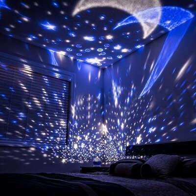 Светодиоидный проектор ночного неба
