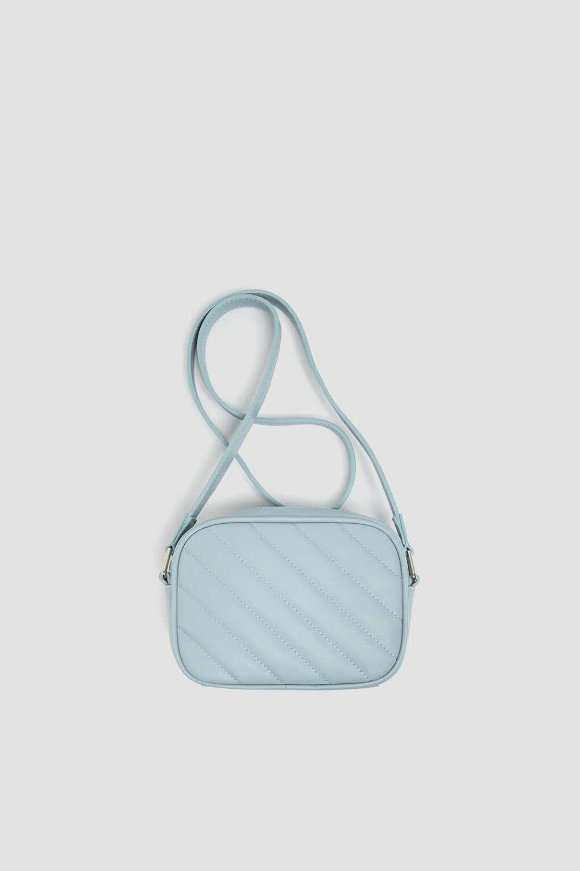 Стеганая сумка с плечевым ремнем