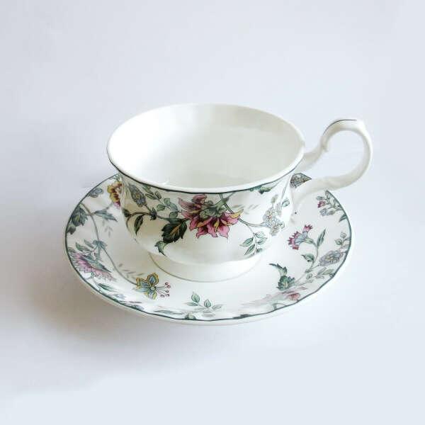 Чайная пара, фарфор