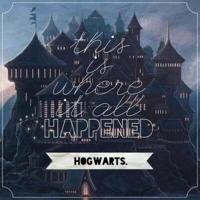 попасть в Хогвартс