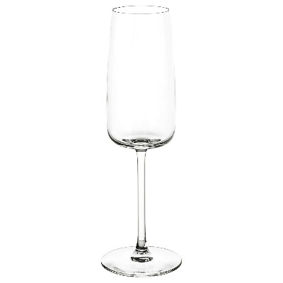 ДЮГРИП Бокал для шампанского, прозрачное стекло купить в интернет-магазине - IKEA