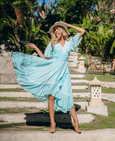 Платье от Ольги Валяевой
