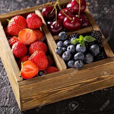 Коробочка любых ягод
