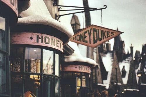 """Побывать в """"Wizarding World of Harry Potter"""""""