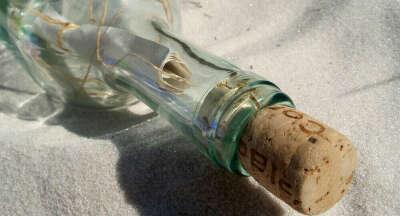 Отправить письмо в бутылке