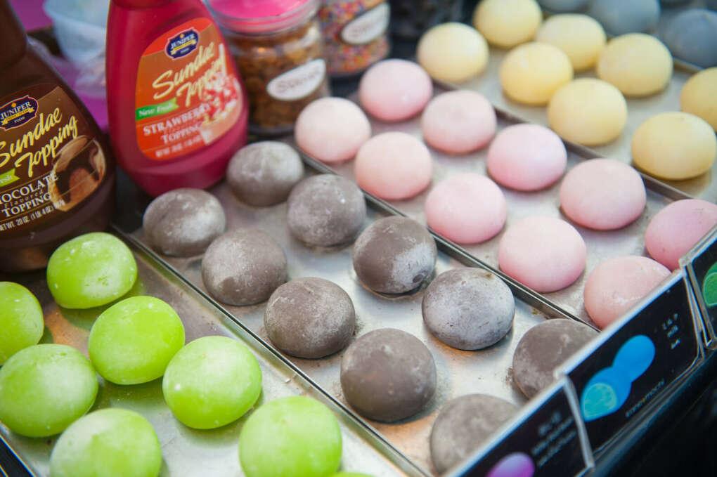 Японское мороженое Mochi