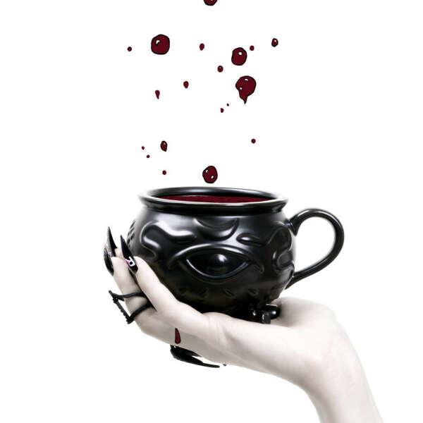 Witch Cauldron Mug