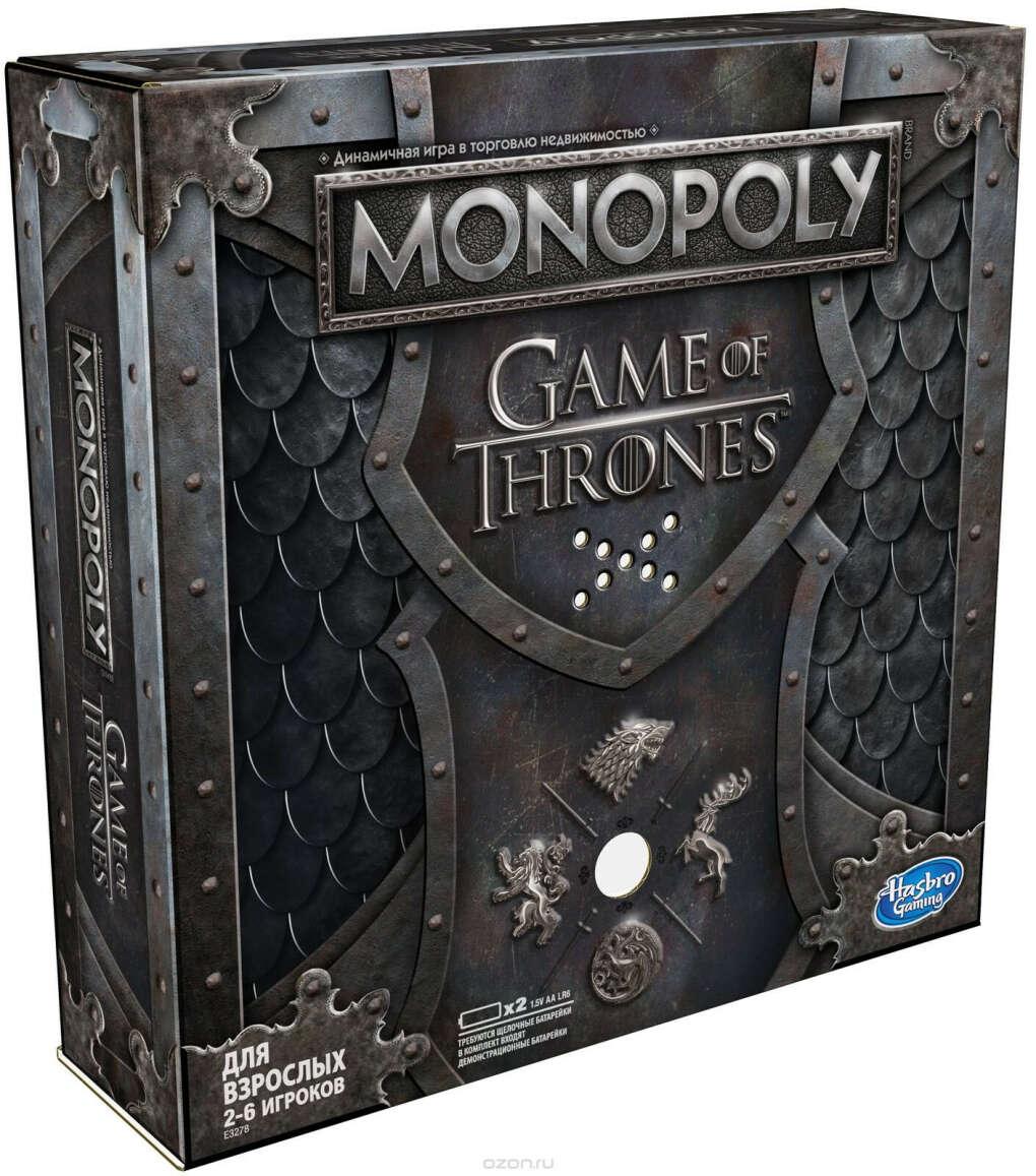 Настольная игра Monopoly Игра престолов