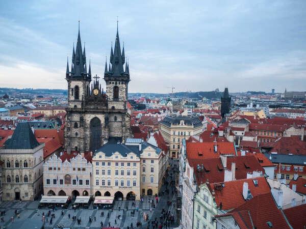 Жить в Праге