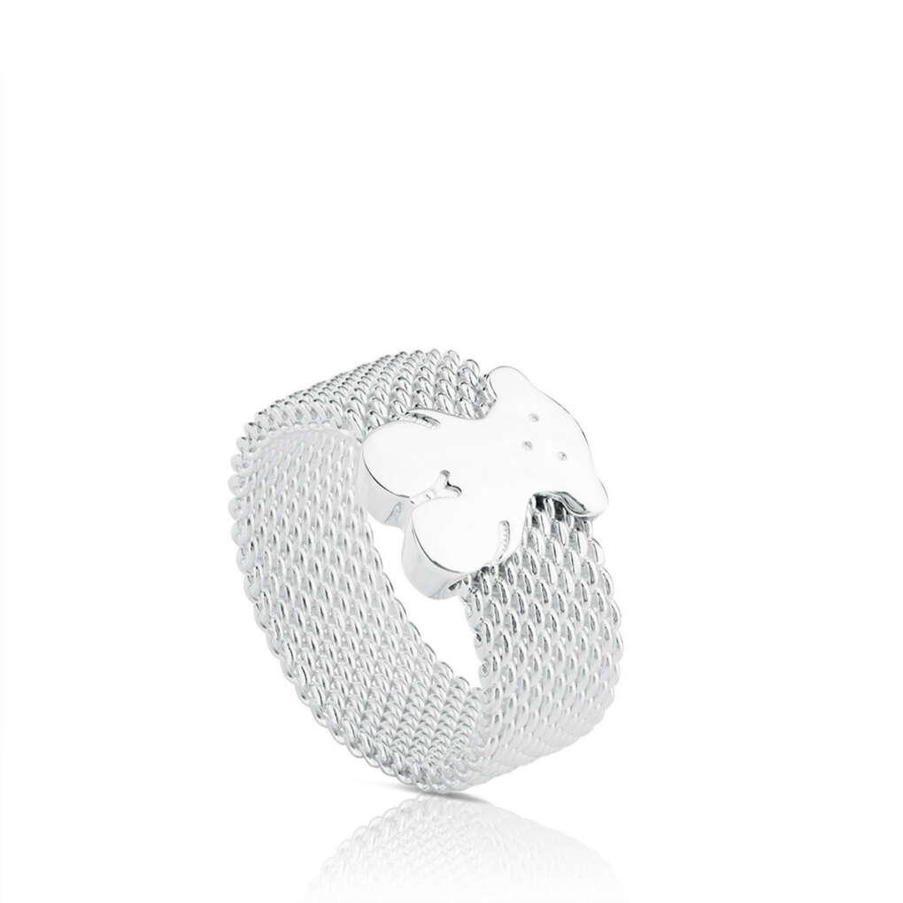 Кольцо с медвежонком