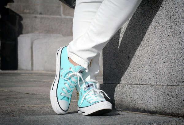 Converse'ы мятного цвета