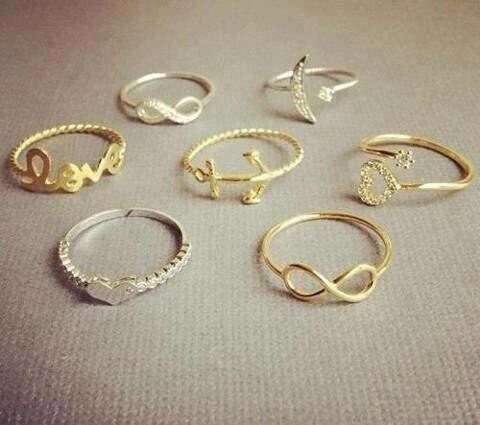кольцо бесконечность
