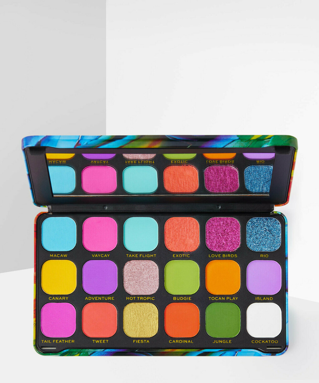Revolution Makeup Forever Flawless Eyeshadow Palette: Bird of Paradise