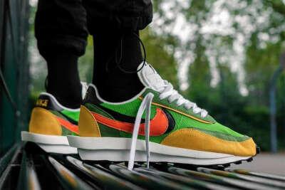 Nike x Sacai waffle 7.5us