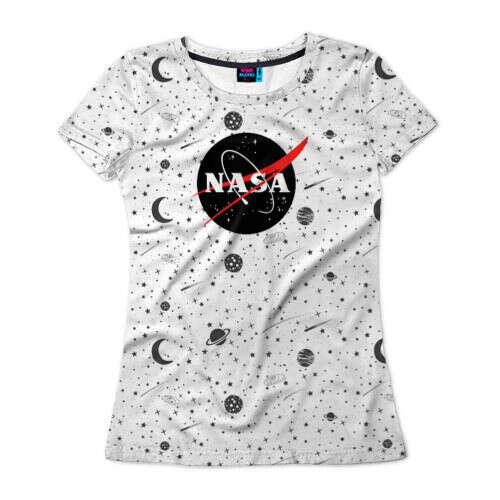 Женская футболка 3D Nasa
