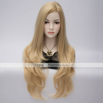 blond wig cosplay