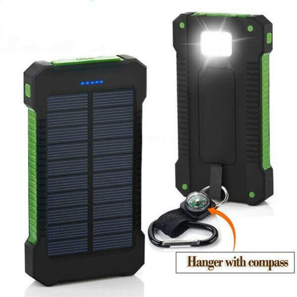Portable Waterproof Solar Power Bank