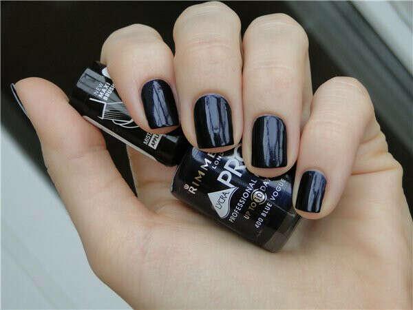 Тёмно-синий лак