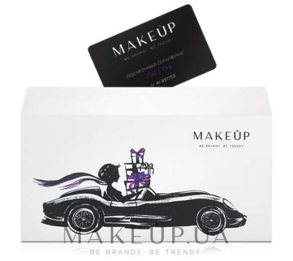 Подарочный сертификат makeup.ua