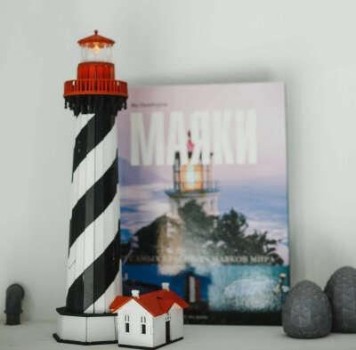 Модель сборная деревянная: маяк Сент Огастин (Флорида, США)