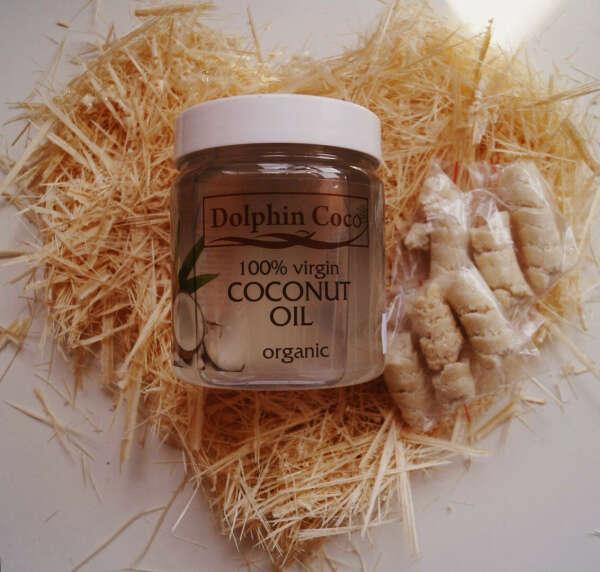 Кокосовое масло нерафинированное, 100% натуральное (банка)