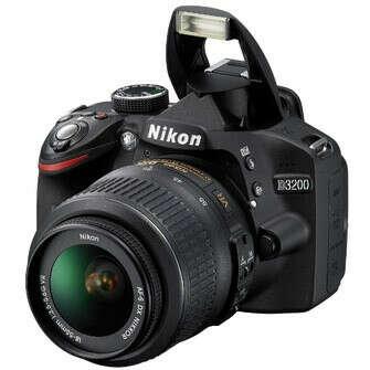 Зеркальный цифровой фотоаппарат Nikon D3200 Kit 18-55mm VR черный