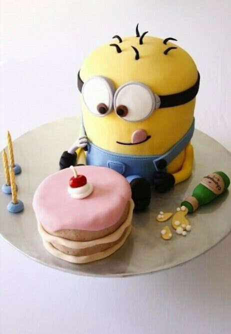 Такой торт на день рождение))