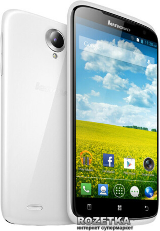 Хочу новый телефон Lenovo S820 White